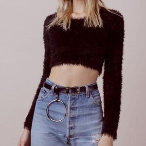 For Love and Lemons Crop Sweater